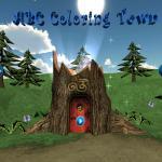 ABC Coloring Town: Crayones binarios para la sobrina