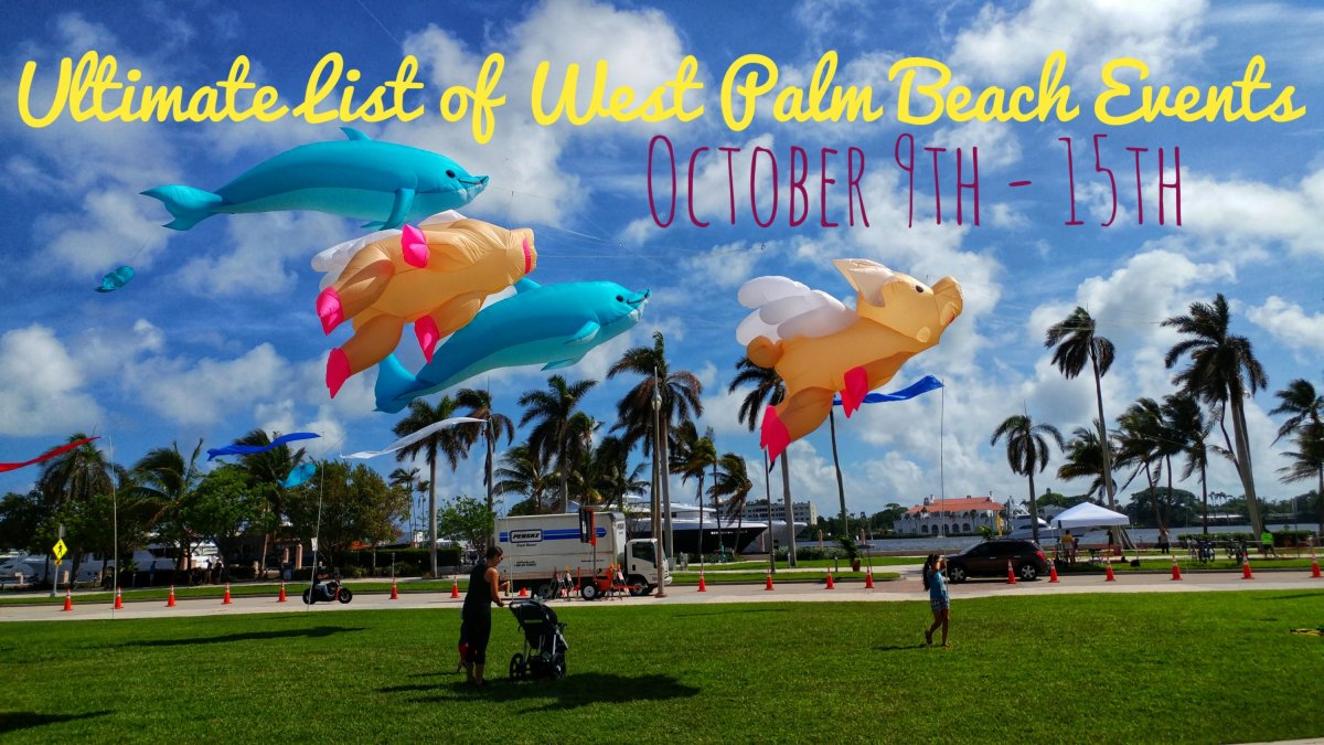 Ultimate list of West Palm Beach events - week of October 9th - 15th