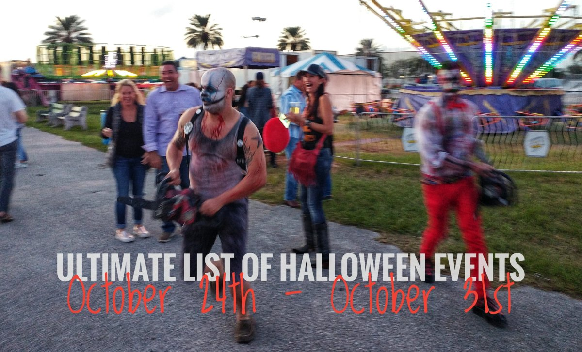 Ultimate list of Halloween events - week of October 24th - 31st