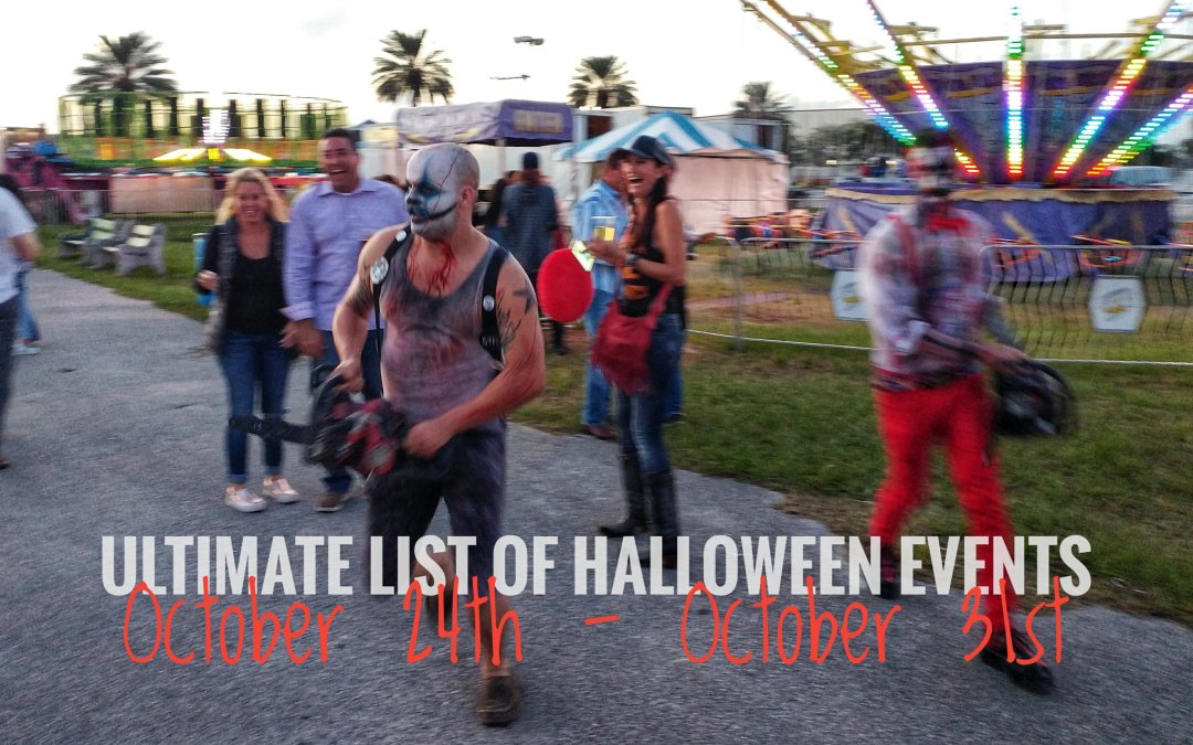 Ultimate list of Halloween events – week of October 24th – 31st