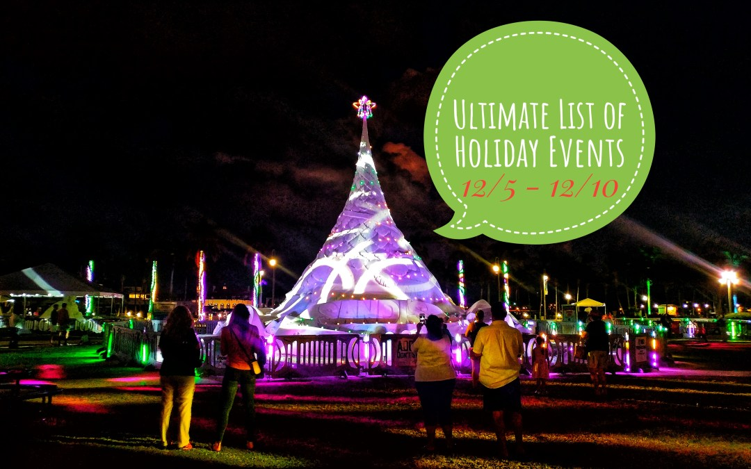Ultimate list of WPB Holiday Events – 12/5 – 12/10