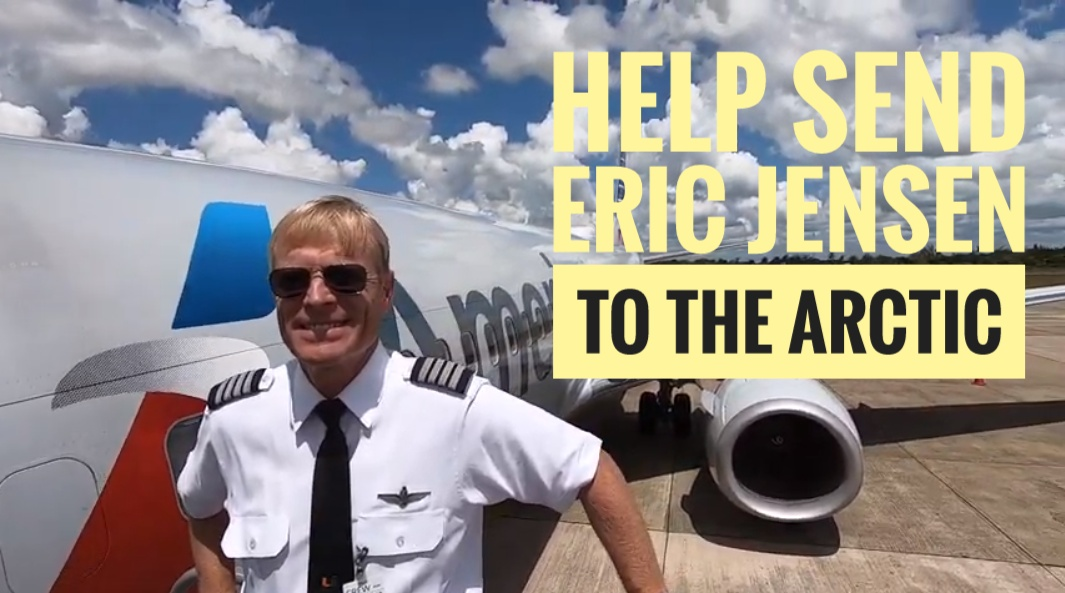 Help send Eric Jensen to the Arctic!