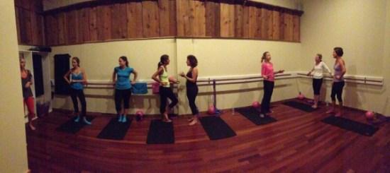 The Yoga Studio in the Back