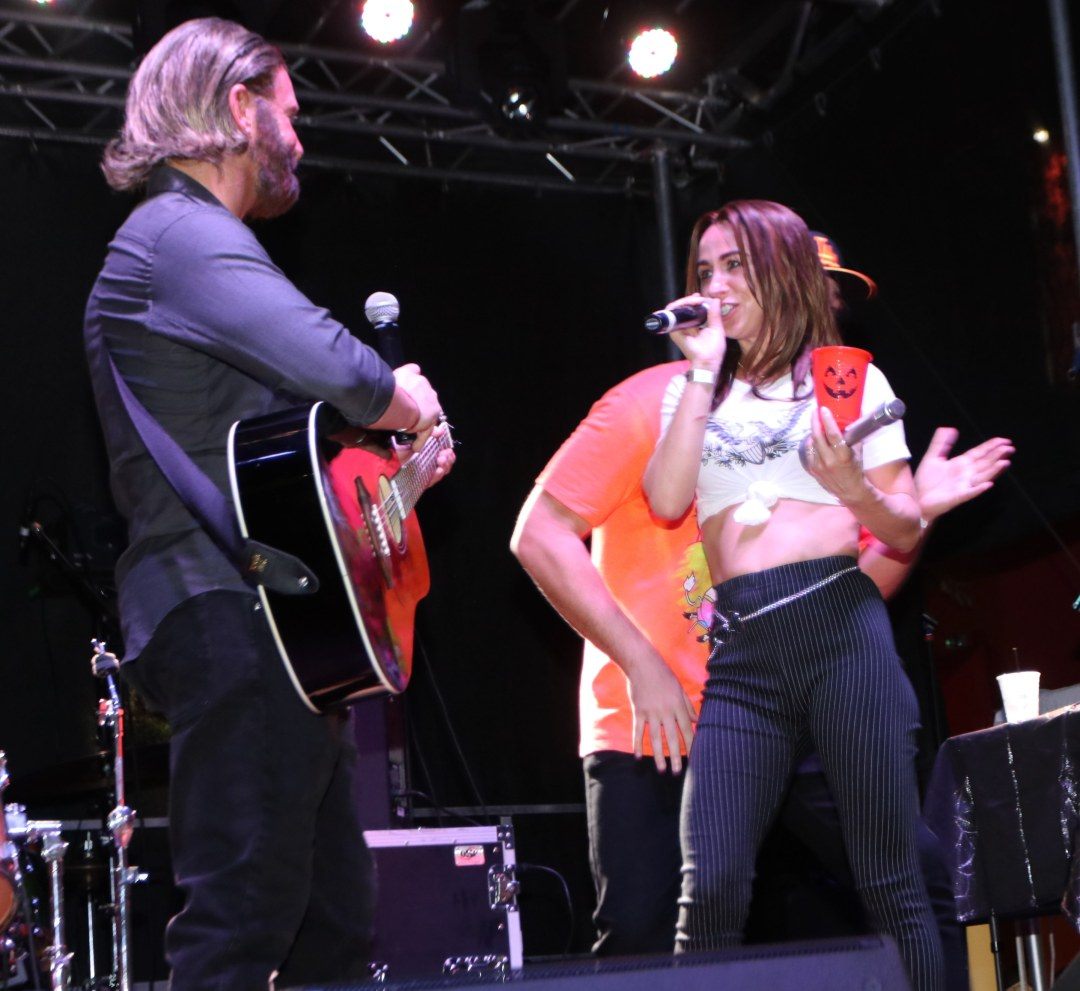 Lady Gaga, Bradley Cooper from a Star Is Born at Moonfest 2019 Costume Contest (photo by: Mike Jalches)
