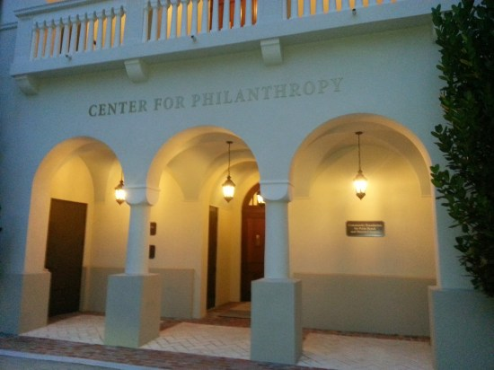 The Center for Philanthropy in Downtown West Palm Beach