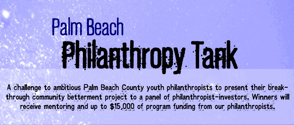 Palm Beach Philanthropy Tank challenges teens to find innovative solutions to community issues