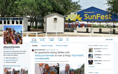 Get Social at #SunFestFL – here are the band's twitter handles & more!