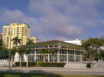 The Lakeside Pavilion is the first LEED certified building in West Palm Beach