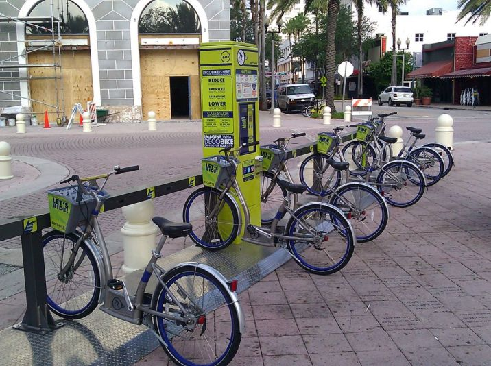 Brand new Deco bikes are on the waterfront!