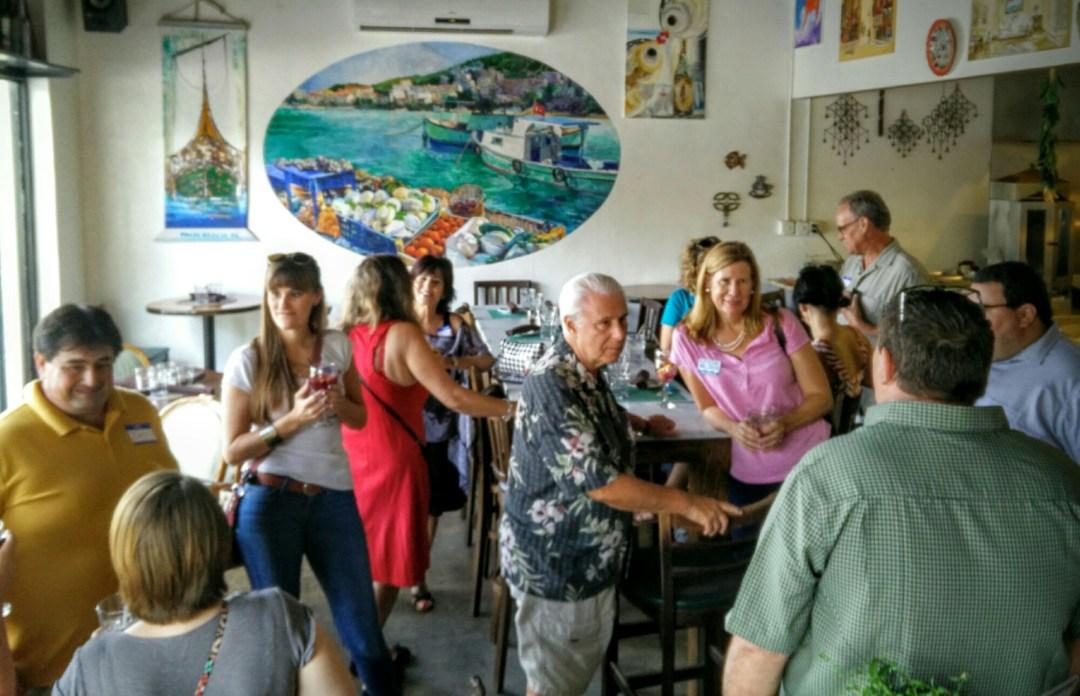 Engagewpb Meetup Is At Agora Mediterranean Kitchen Aguyonclematis