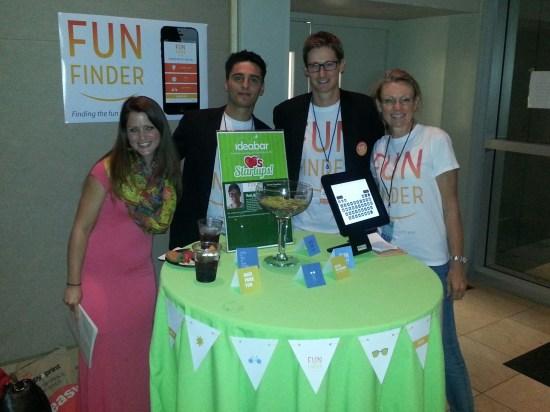 Fun Finder - Winners of Startup Weekend