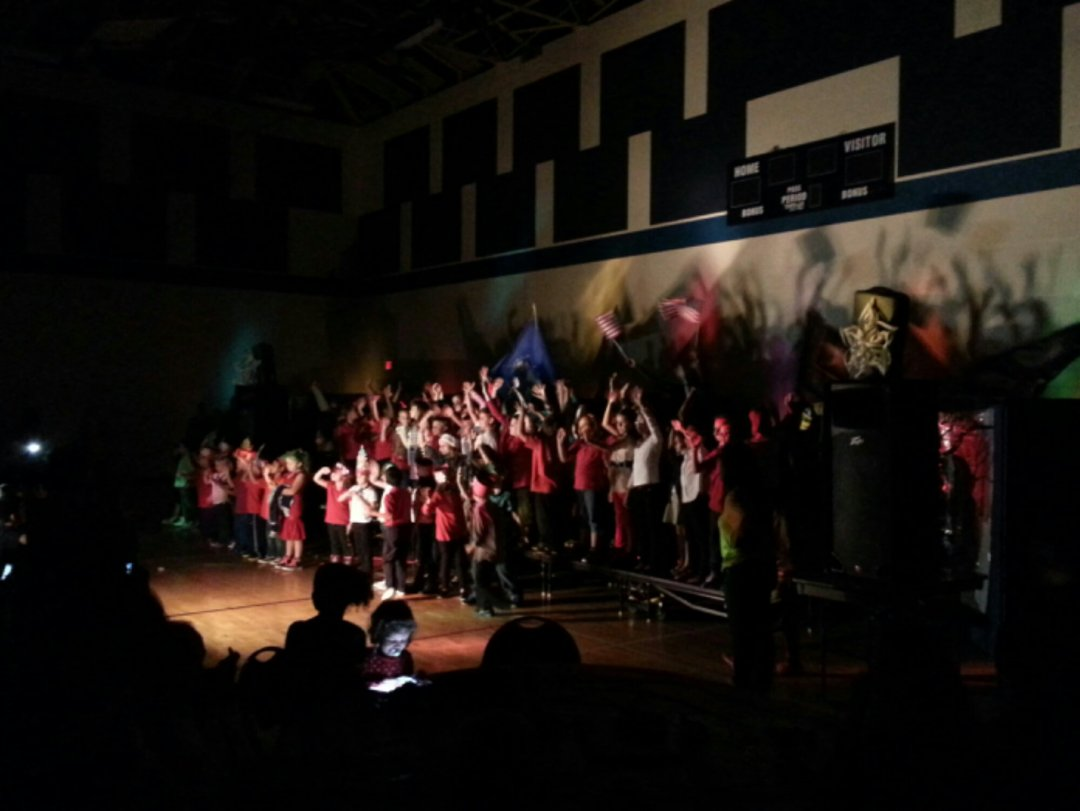 South Olive After School Program put on their annual Holiday performance
