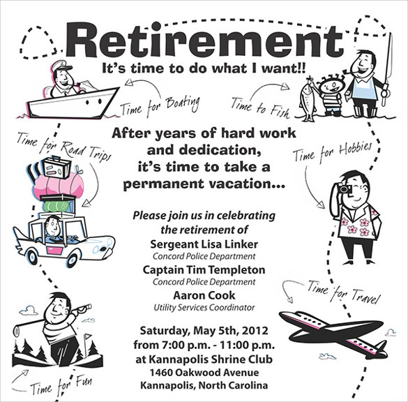 Flyer Template For Retirement Party Quiz: How Much Do You