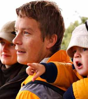 mother, father and kid enjoying and making quality family time