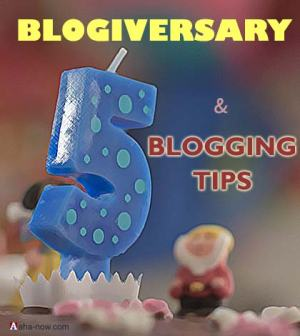 Essential blogging tips on blog anniversary