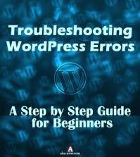 Troubleshooting WordPress Errors Poster