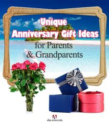 Unique Anniversary Gift Ideas for Parents & Grandparents