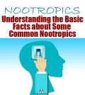 poster about understanding common nootropics with image of switching on the brain