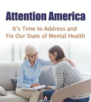 Counselor giving therapy to woman to improve the state of mental health