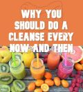 Different types of smoothies for gut cleansing