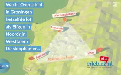 Is het denkbaar dat in Groningen net als in het Rijnland hele dorpen worden gesloopt?