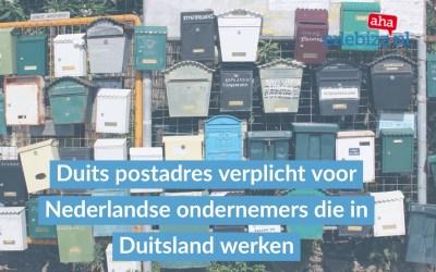 Nederlandse bedrijven door Duitse douane beboet vanwege ontbreken Duitse postbus