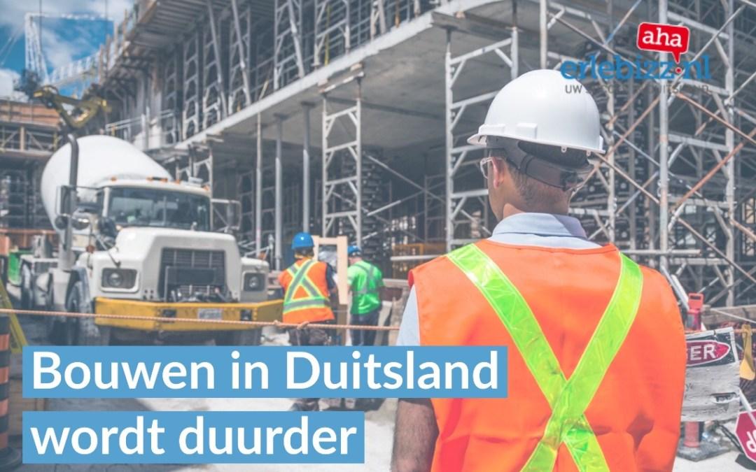 Forse stijging minimumloon bouwvakkers in Duitsland