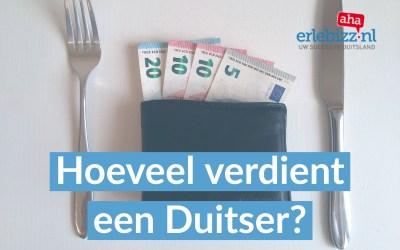 Hoeveel verdient een Duitser?