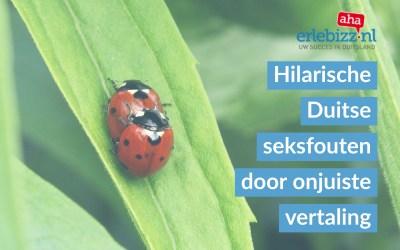 Pijnlijke seksfouten door onjuiste Nederlands-Duitse vertaling hoofdletters
