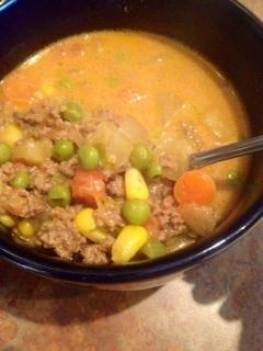 easy cheeseburger soup recipe