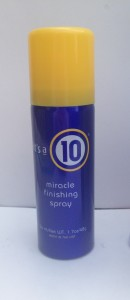 """it's a 10"" Miracle Finishing Spray in purse size!"