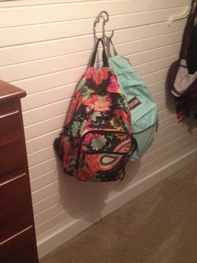 backpack hooks