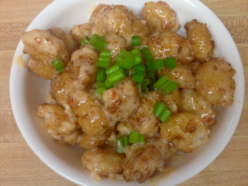 popcorn shrimp two ways