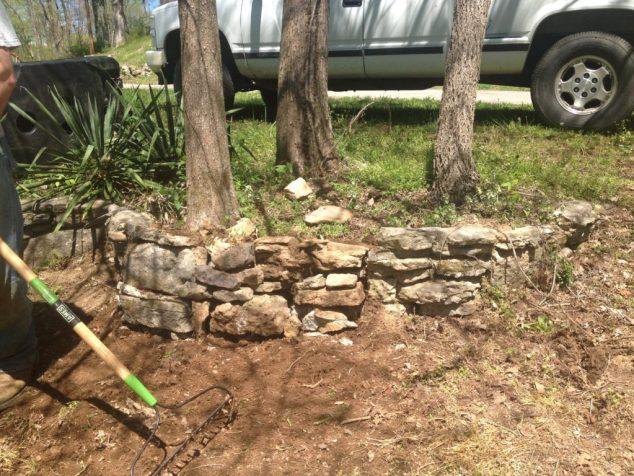 gardening with rocks