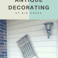 Country Antique Decorating at Big Creek