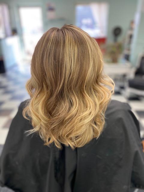 blonde foilayage