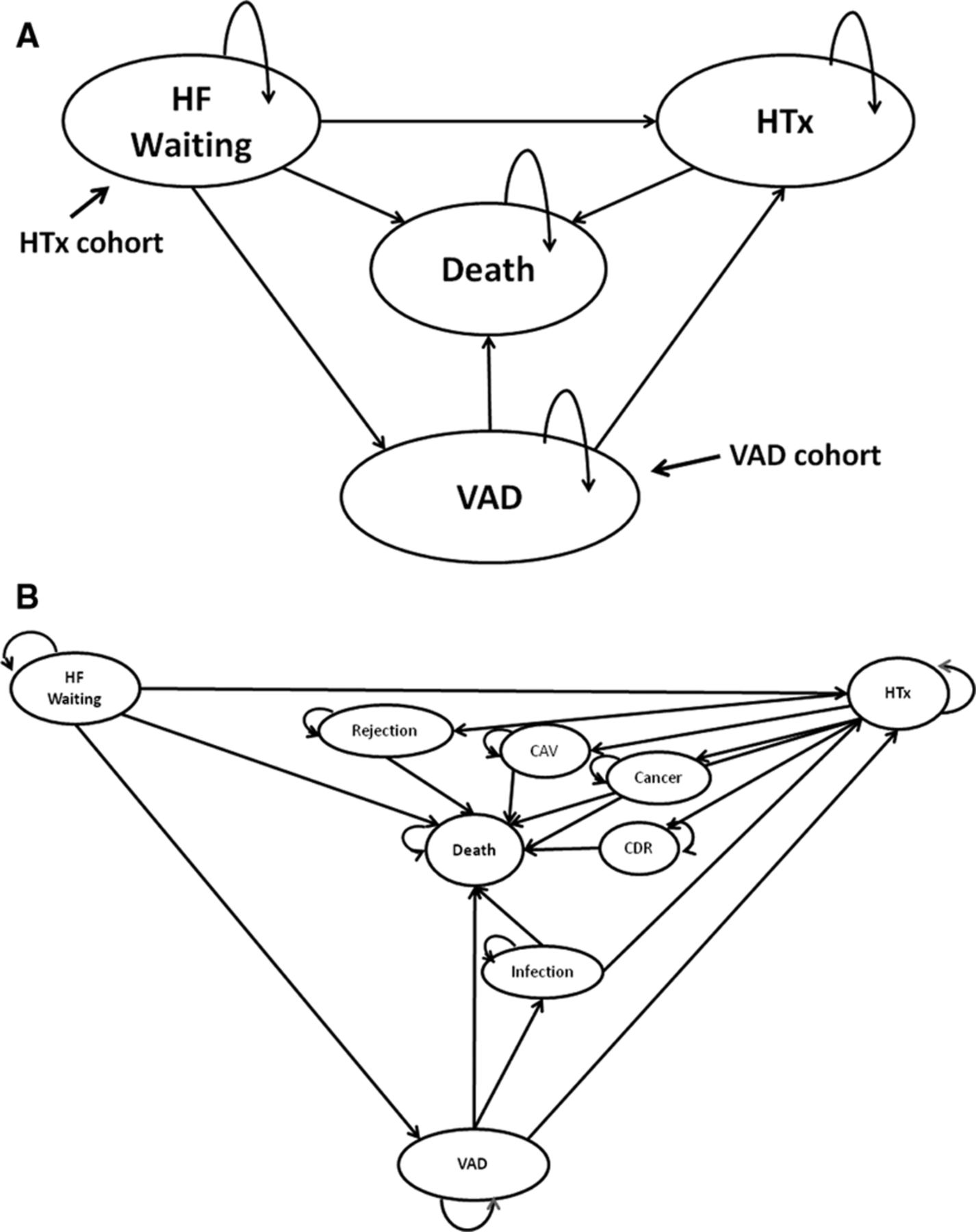 Cost-Effectiveness of Ventricular Assist Device Therapy as