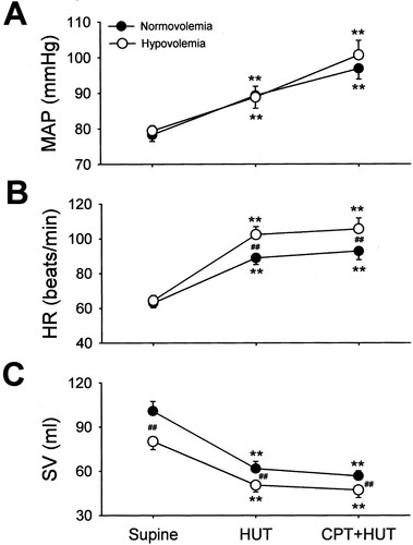 Vasoconstrictor Reserve and Sympathetic Neural Control of