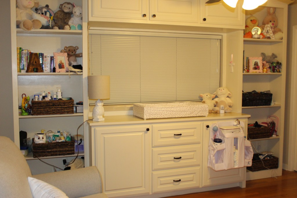 Changing Table Area