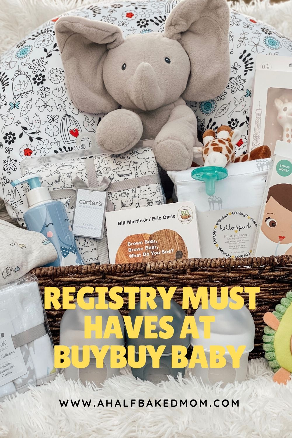 Our Baby Registry with buybuy Baby