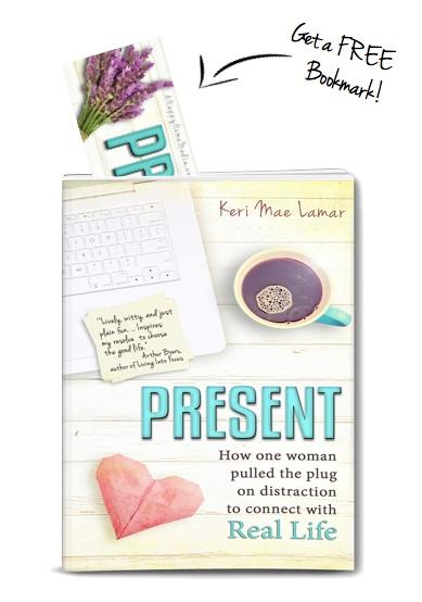 Present Bookmark in book