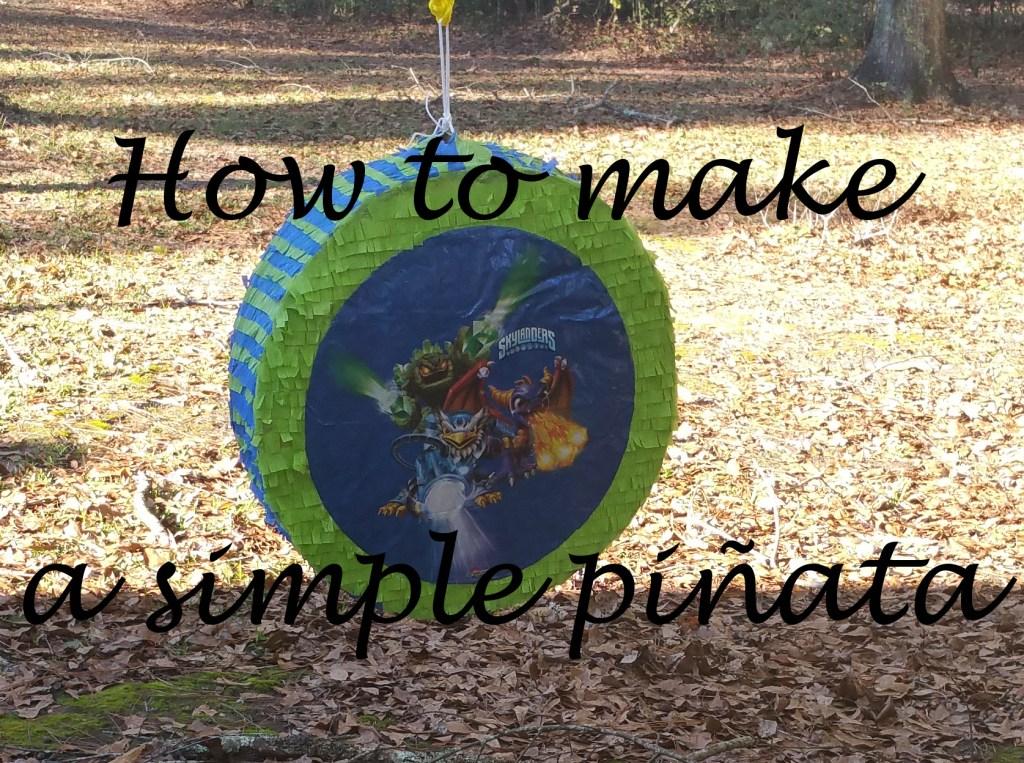 How to Make an Easy DIY Pinata (using a Mylar balloon)