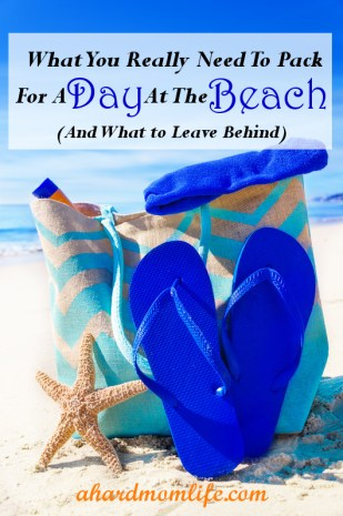 What To Pack For A Day At The Beach