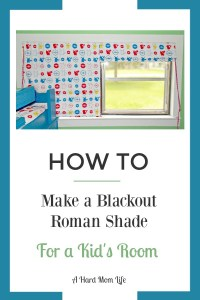 Are you looking for another window treatment option for your child's room? This Blackout Roman Shade offers adorable decor with an economical design.