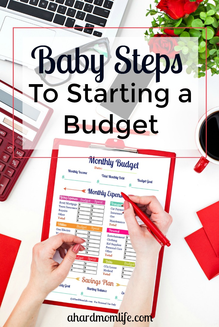 Looking to start a budget but not sure how to save without rearranging your life? You don't have to stop spending money cold turkey. Check out how to start a budget while taking baby steps to keep it.