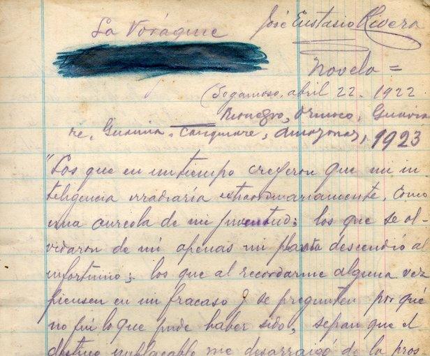 El derecho a exiliar el manuscrito