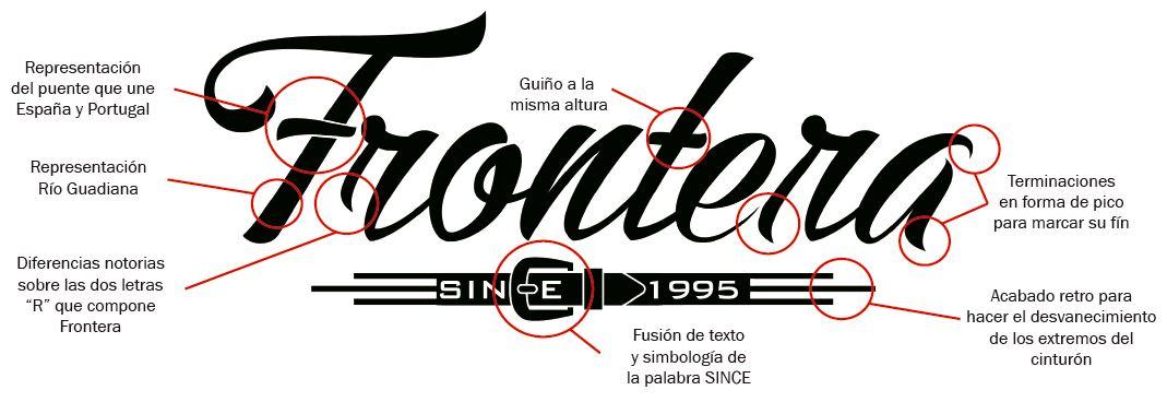 Restyling logotipo para la empresa Frontera Shop