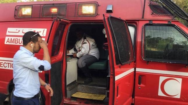 """ياربي السلامة .. إصابة سائق سيارة ومرافقيه إثر حادثة سير بـ""""بوطلحة"""""""