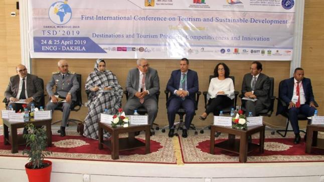 افتتاح المؤتمر الدولي حول السياحة و التنمية المستدامة بدعم من المجلس الجهوي الداخلة وادي الذهب