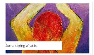 surrendering what is painting by roberta millard